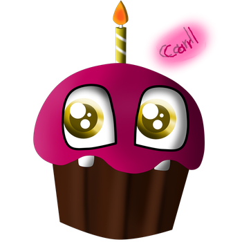 Carl The Cupcake by mayerli-diane-pie