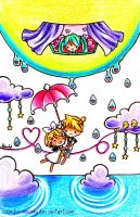 Rain Drop by Colorful--Melody