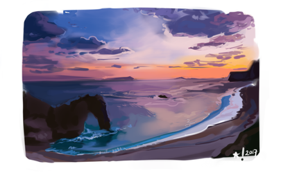 Landscape Study by StarSheepSweaters