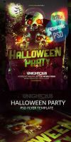 Halloween Party Flyer PSD Flyer Template by ImperialFlyers