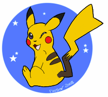 Pikachu Sticker by KaiserTiger
