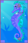 Sassy Dragon - Seahorse form by SassyDragon18