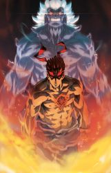 Evil and the Oni by theCHAMBA