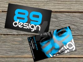 Business Cards for 89 Design by thomas-stevens