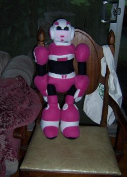 TFA Arcee Plush by Lylix