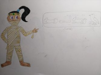 [OC] Leila the Egyptian Mummy by Dilettante1337