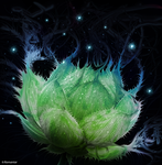 Green Lotus by Romantar
