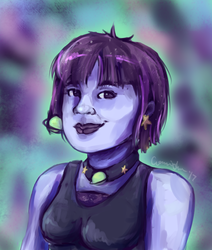 Space Girl by conwolf