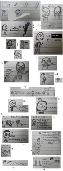 EPIC SKETCHDUMP OF DOOM by WibSkelDS9
