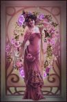 Mucha In the Pink by lisamarimer