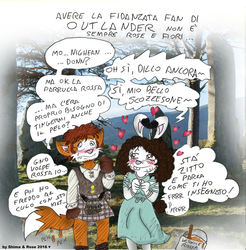 My girlfriend is now an Outlander Fan. by ShimaFox