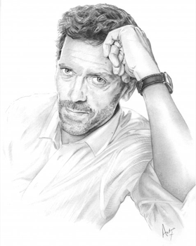 Hugh Laurie as Doctor House by grohlsguitar