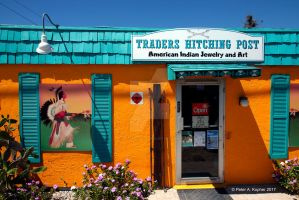 Traders Hitching Post  by peterkopher