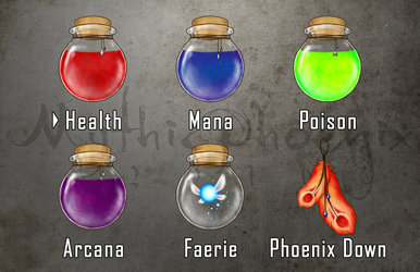 Item Select by MythicPhoenix