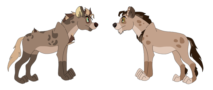 Hyenas for Taai (1 of 2) by Witch-Doctais46
