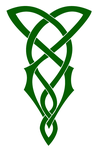 Green Celtic Knot by Mechanismatic