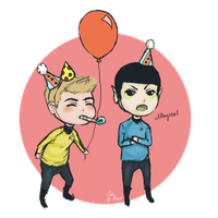 Spock the Party Pooper by Prelude1964