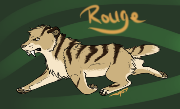 Rouge - Wild by littlezombiesol
