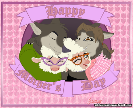 Dawn and Vern: Mother's Day by WastedTimeEE