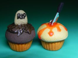 Halloween Cupcakes by Pandannabelle
