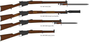 Wz. 1887 Infantry Rifle and variants by Semi-II