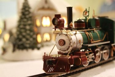 All aboard to the North Pole by dfbovey