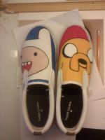 Adventure Time Slip On by ChokingHazzard