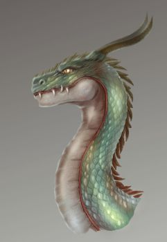 Dragon Head, Study by lololoxvi