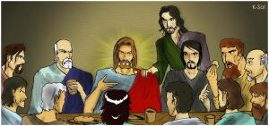 The Last Supper by ksol-unlimited