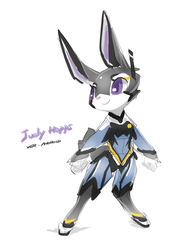 Judy the android cop by TysonTan