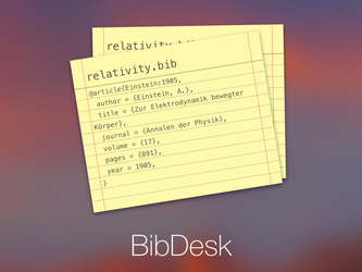 BibDesk Icon by fredericofrancisco