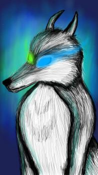 Digital Art Practice - Spirit of the Wild by StormStrikeElectric