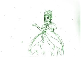 Snow in Orleans.:Sketch:. by SonicHearts