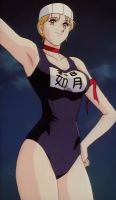 New Cutey Honey - School Swimsuit Honey by Honey-Kisaragi1973