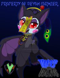 Tricks and Treats - Candy the Jiangshi by PlayboyVampire