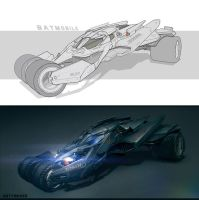 Batmobile by Gottsnake