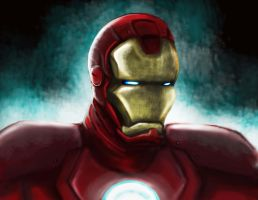 Iron Man by ANARKYOFADOWN