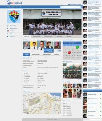 Geschool Website by badmister