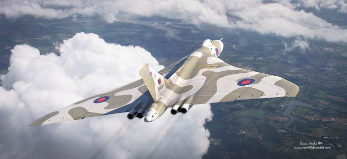 The Last Flight of the Vulcan by rOEN911