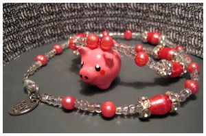 Piggy necklace by kvacktop