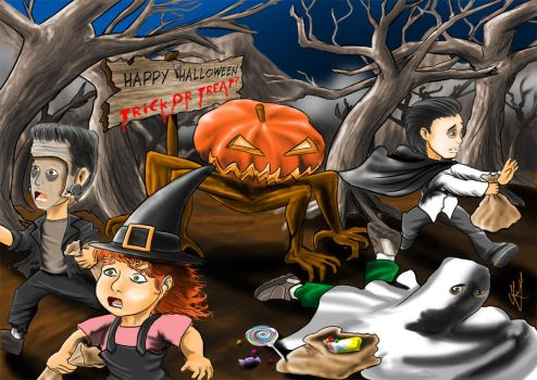 Happy Halloween 2012 by SirNightfall