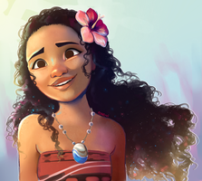 Moana by pianorei