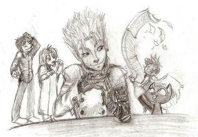 Trigun gang by Icequeenkitty