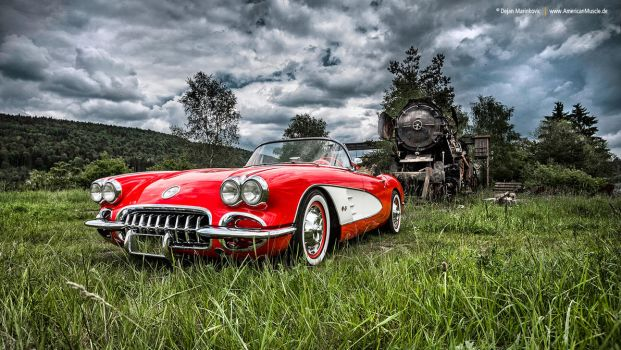 1960 Corvette by AmericanMuscle