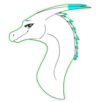 Dragon Headshot AT #5 by Sahel-Solitude