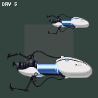 Day 5 - A Weapon by 7Soul1