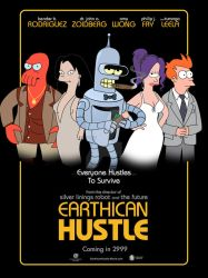 Earthican Hustle - 'American Hustle' parody poster by LavaLampCreative
