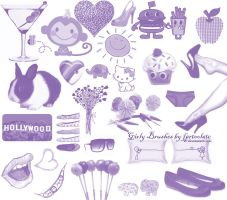 Girly Brushes by fartoolate