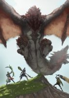 Monster hunter world by LutherTaylor