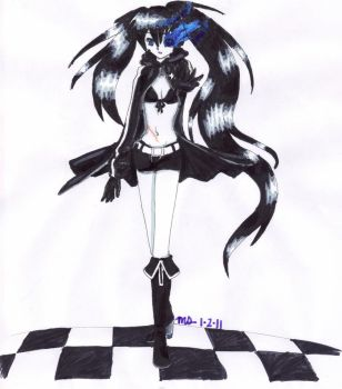 Black Rock Shooter by Macbeth-is-my-cat